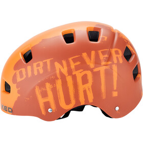 KED 5Forty Helmet Kinder dirt orange
